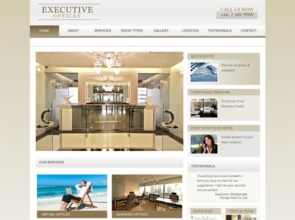 Executive Offices by Found